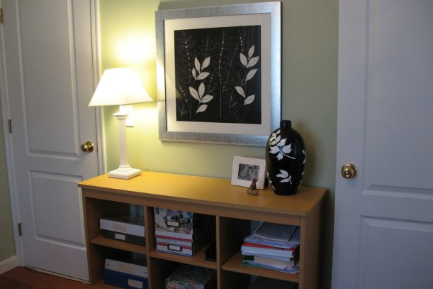 console table in my study