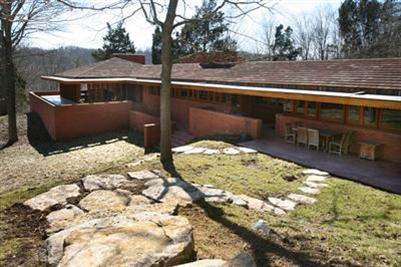 Frank Lloyd Wright's William P. Boswell House in Indian Hill