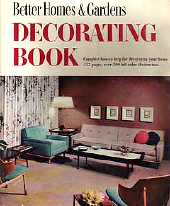cover of decorating book from 1950s
