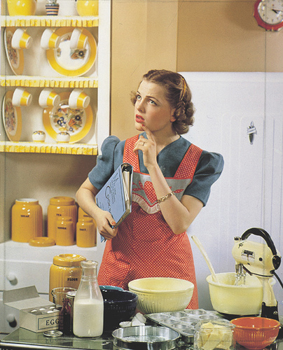 Caption This: A 1950s Homemaker Ponders…