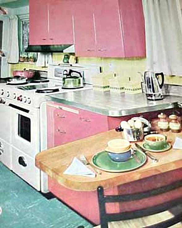 50s Kitchen Art: Retro Rooms: The 1950s Kitchen
