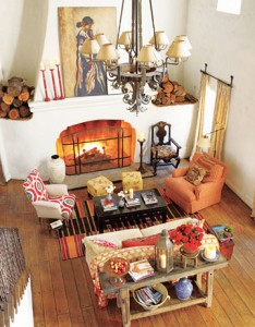Kathryn Ireland-Ojai ranch-House Beautiful 1