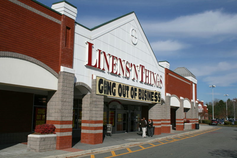 Linens n Things Closed Bankruptcy