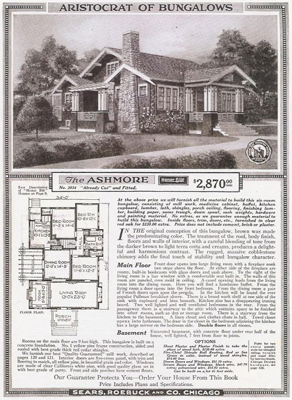 Sears honor bilt ashmore kitchen remodel hooked on houses for Catalog houses