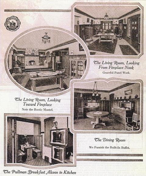 Sears Ashmore House Plan Interior Photos