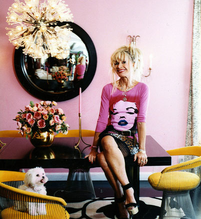 Designer Betsey Johnson's Pink Penthouse