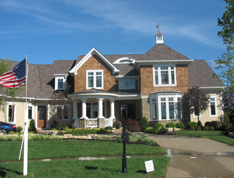 a shingle style house