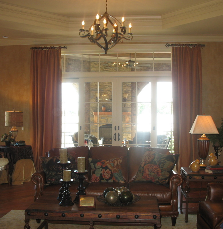 Hearth Room Off Kitchen: Fantasy Open House #7: Chateau Tourelle