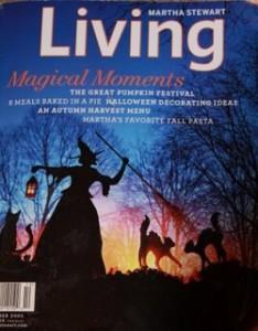 cover of Martha Living magazine