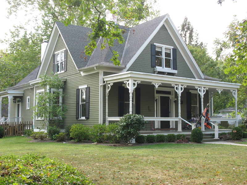 Victorian house in Terrace Park Ohio