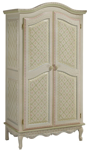 painted armoire for nursery