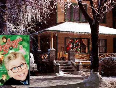 """A Christmas Story:"" Ralphie's House in Indiana"