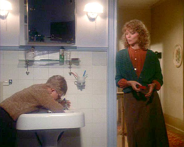 A Christmas Story movie house bathroom