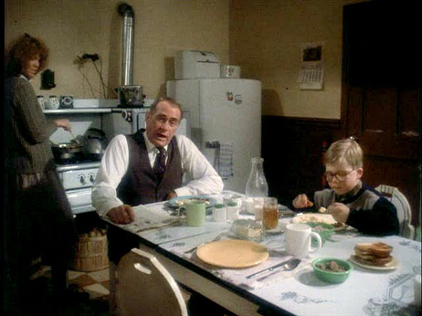 A Christmas Story movie house kitchen