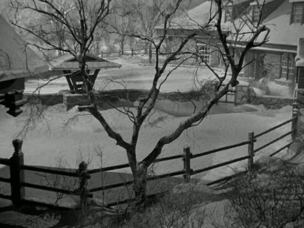 Christmas in Connecticut farmhouse 1