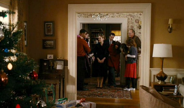 The Family Stone movie house family gathers