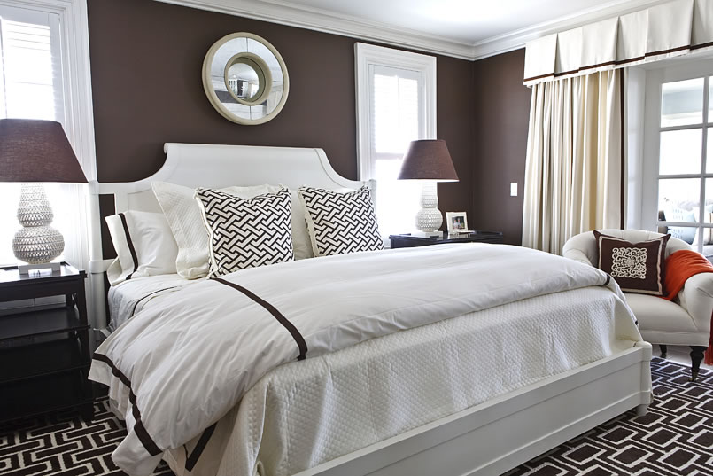 Eye Candy: 10 Luscious Brown Bedrooms | Curbly