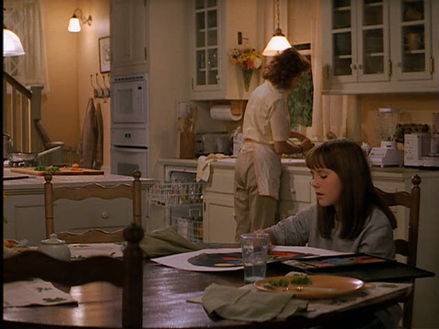 Jackie's kitchen.