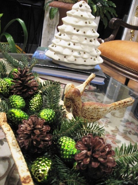 tablescape for the holidays