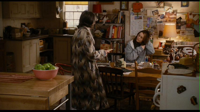 Diane Keaton's character Sybil had a table she used as a desk in the kitchen.