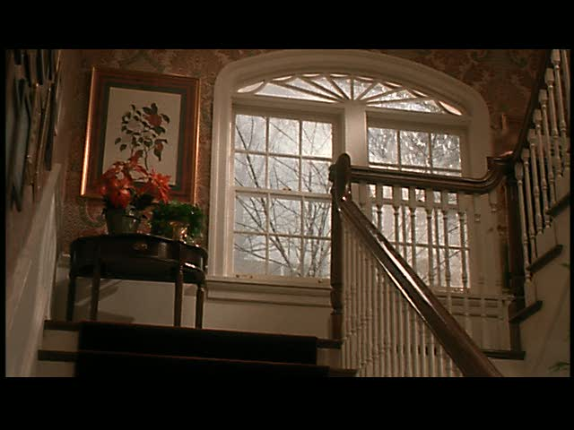 One of my favorite parts of the house: the landing with the window.