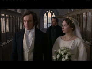 The wedding is interrupted. Someone knows a good reason why Rochester and Jane shouldn't be married.