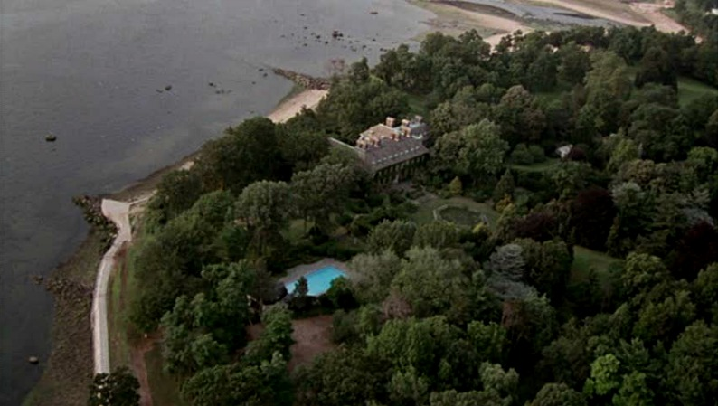 Harrison Ford's Larrabee Estate in movie Sabrina