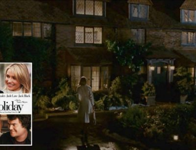 "Jude Law's Mill House in ""The Holiday"""