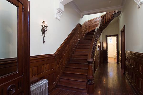 renovated brick amp brownstone mansion in philadelphia