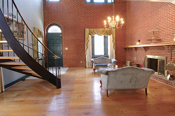 200 year old brick home gets unusual remodel hooked on for Remodeling old homes