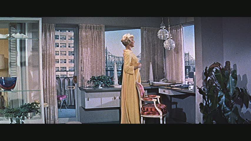 The Sets From Quot Pillow Talk Quot With Doris Day Amp Rock Hudson