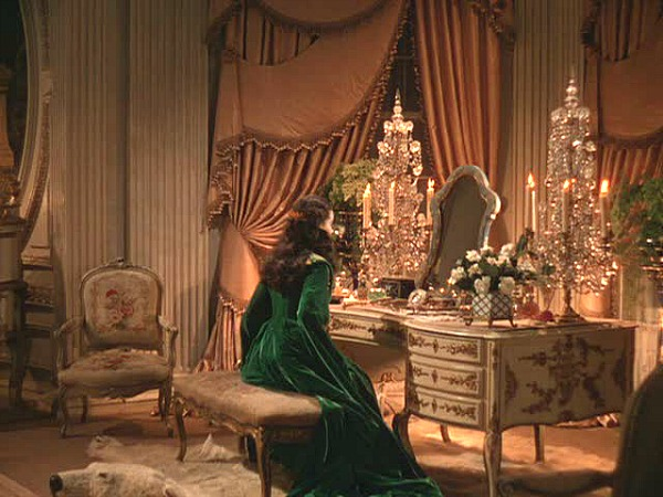 Gone with the Wind Atlanta house Scarlett's vanity