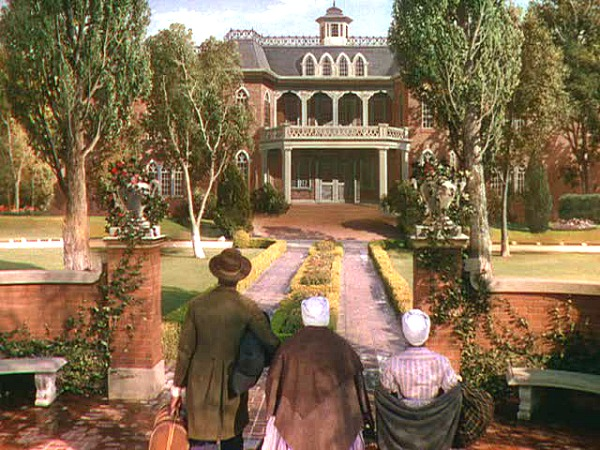 Gone with the Wind Atlanta house exterior