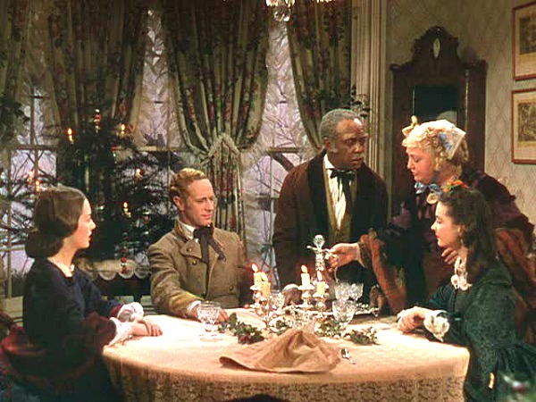 Gone with the Wind Aunt Pittypat's dining room