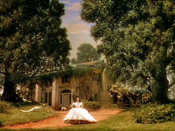 Gone with the Wind Sets: Tara and Twelve Oaks Paintings Of Old Southern Homes Plantations And Mansions Html on