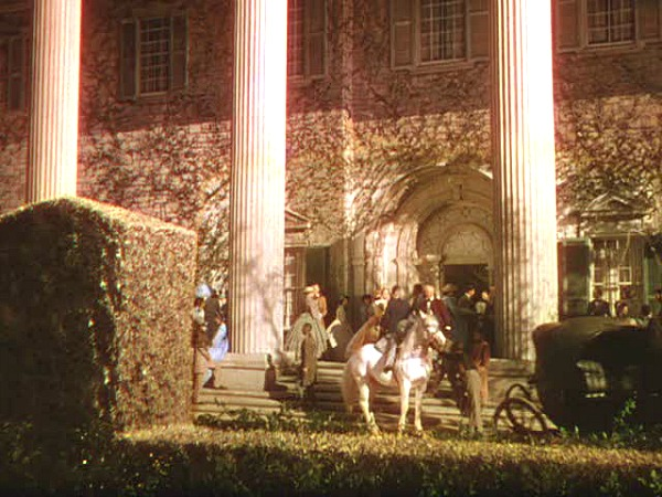 Gone with the Wind Twelve Oaks exterior