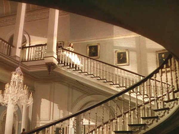 Gone with the Wind Twelve Oaks staircase