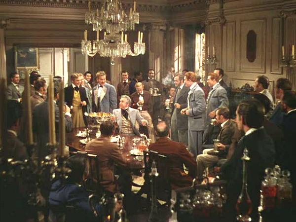 Gone with the Wind Twelve Oaks war meeting