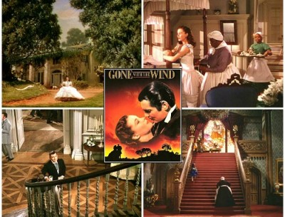 Gone with the Wind: Tara and Twelve Oaks