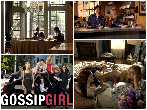 Gossip Girl TV show cast and sets on CW