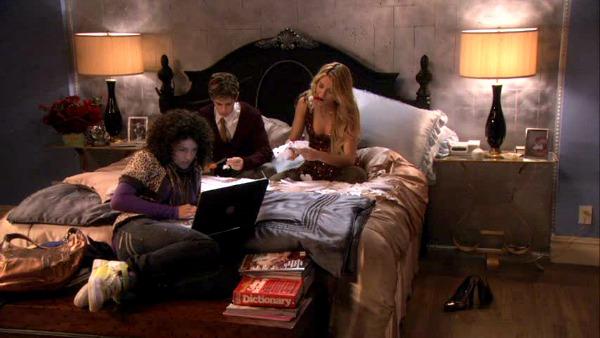 Gossip Girl TV show sets Blair's bedroom 2