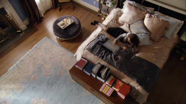 Gossip Girl TV show sets Blair's bedroom 4