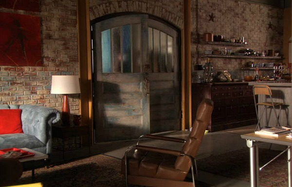 Gossip Girl TV show sets Dan's loft 2
