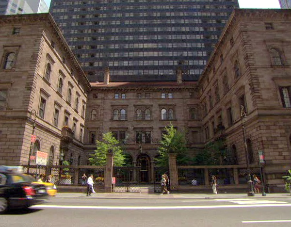 Gossip Girl TV show sets Palace Hotel
