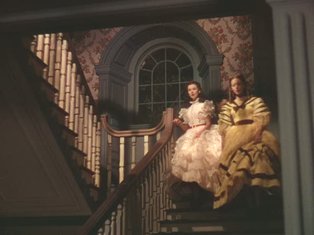 Tara Gone with the Wind staircase