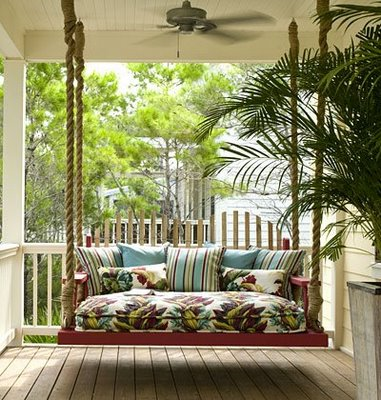 Hooked on Porch Swings - Hooked on Houses