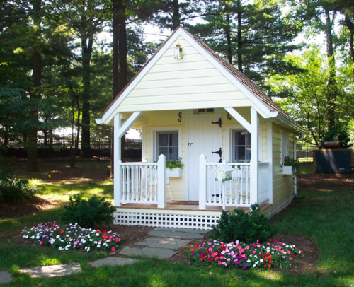 Hooked on playhouses hooked on houses for Playhouse with porch plans