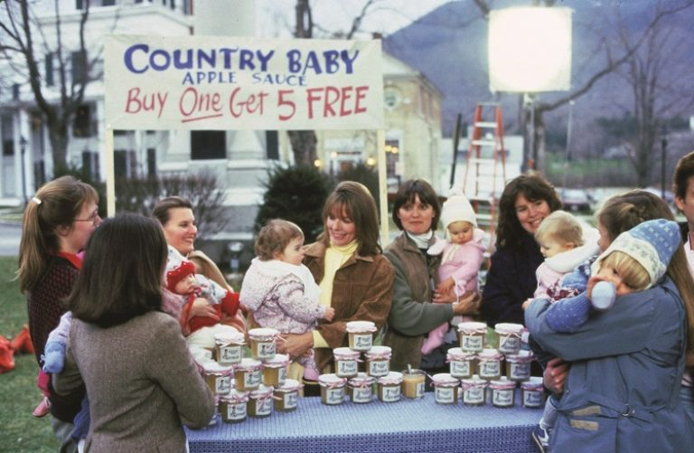 Baby Boom Country Baby Applesauce