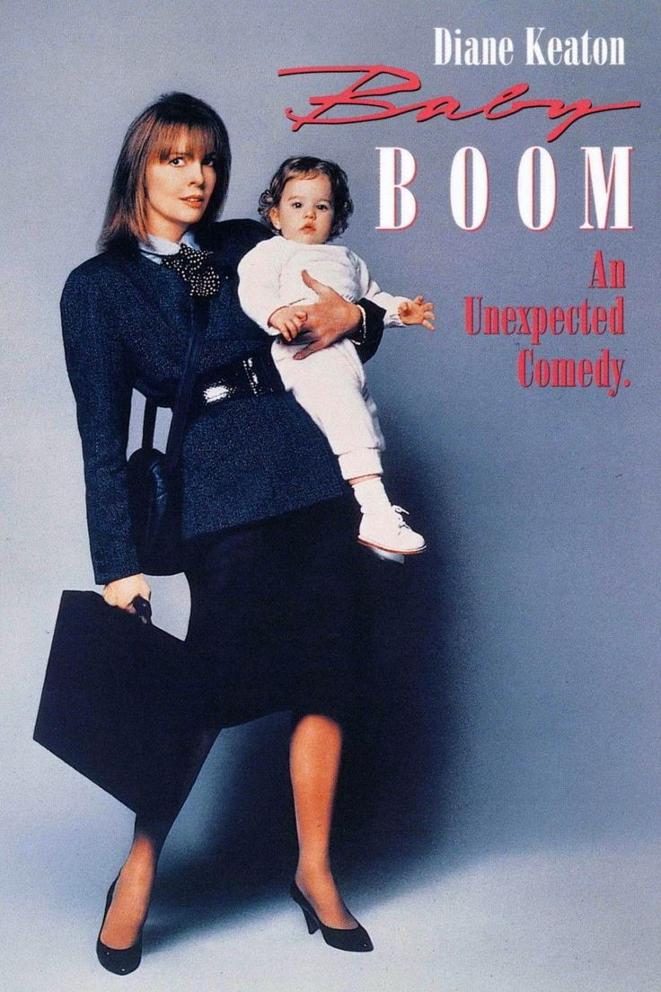 Baby Boom Movie Poster 1987