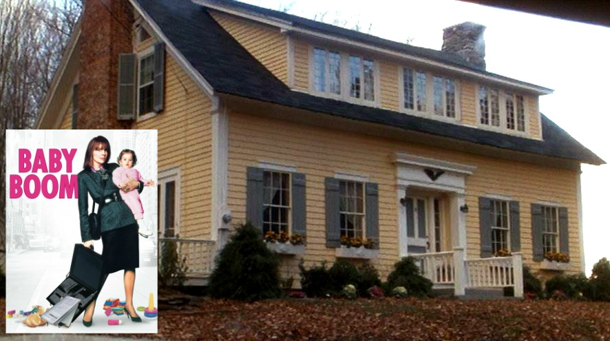 Baby Boom movie house in Vermont